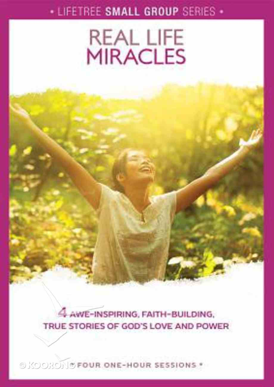 Lifetree: Real Life Miracles (Small Group Dvd Study) Dvd-rom