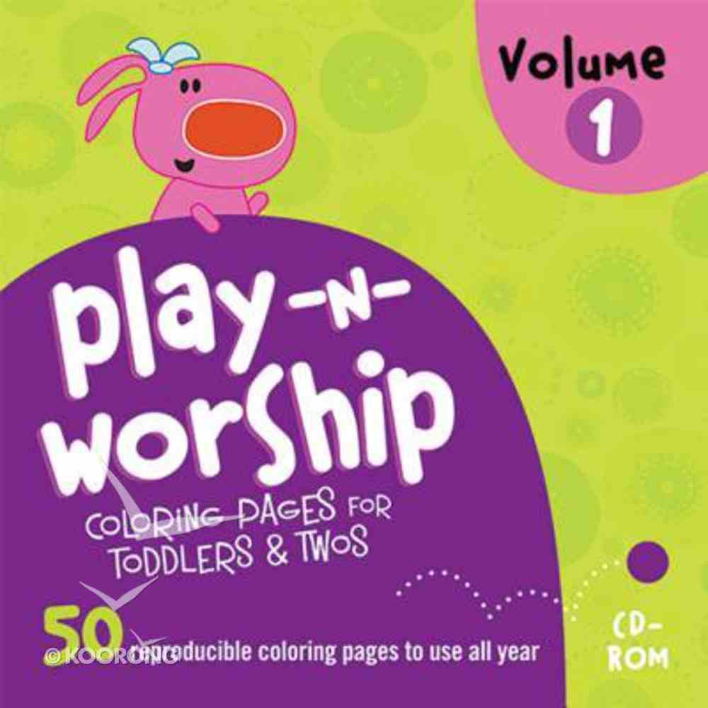 Play-Along Stories For Toddlers (Play N Worship Series) CD-rom