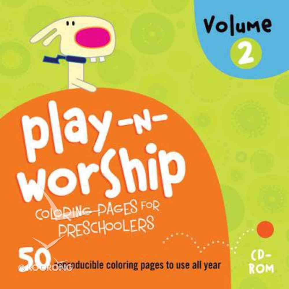 Play-Along Stories For Preschoolers (Play N Worship Series) CD-rom