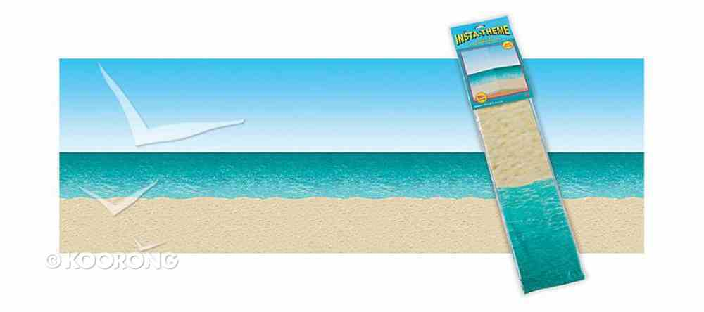Treasure Hunt Fall Fest: Ocean & Beach Plastic Backdrop Soft Goods
