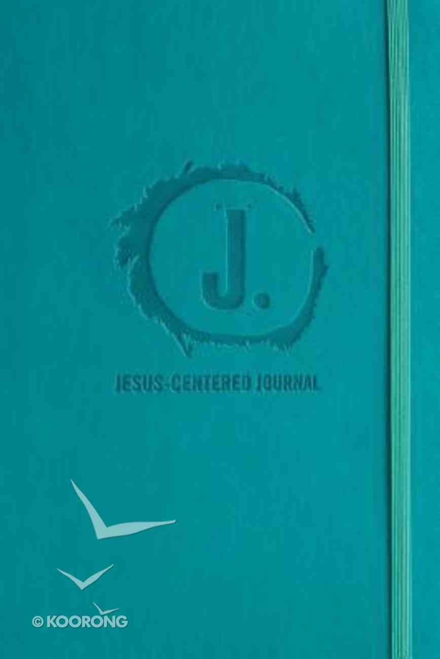 Journal: Jesus-Centered Journal, Turquoise Imitation Leather