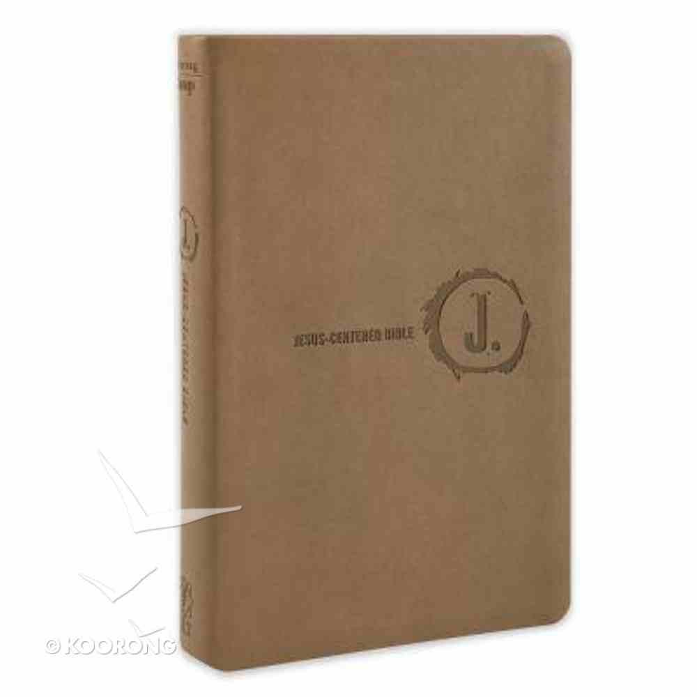 NLT Jesus-Centered Bible Saddle (Red Letter Edition) Imitation Leather