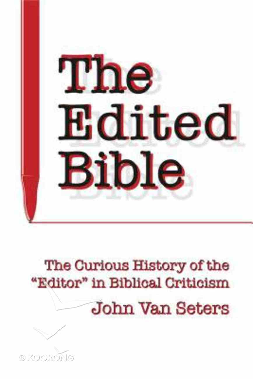 The Edited Bible Paperback