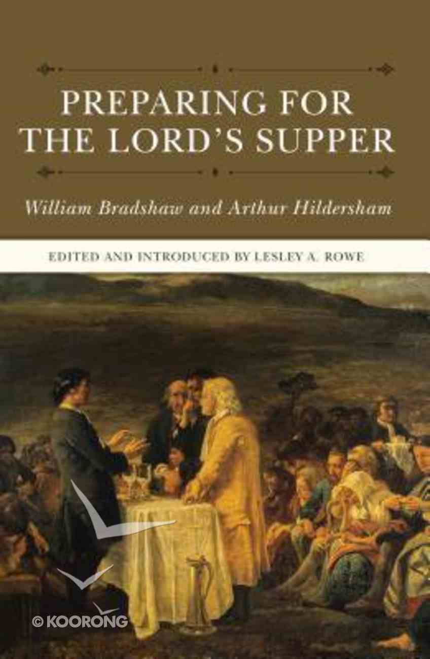 Preparing For the Lord's Supper Hardback