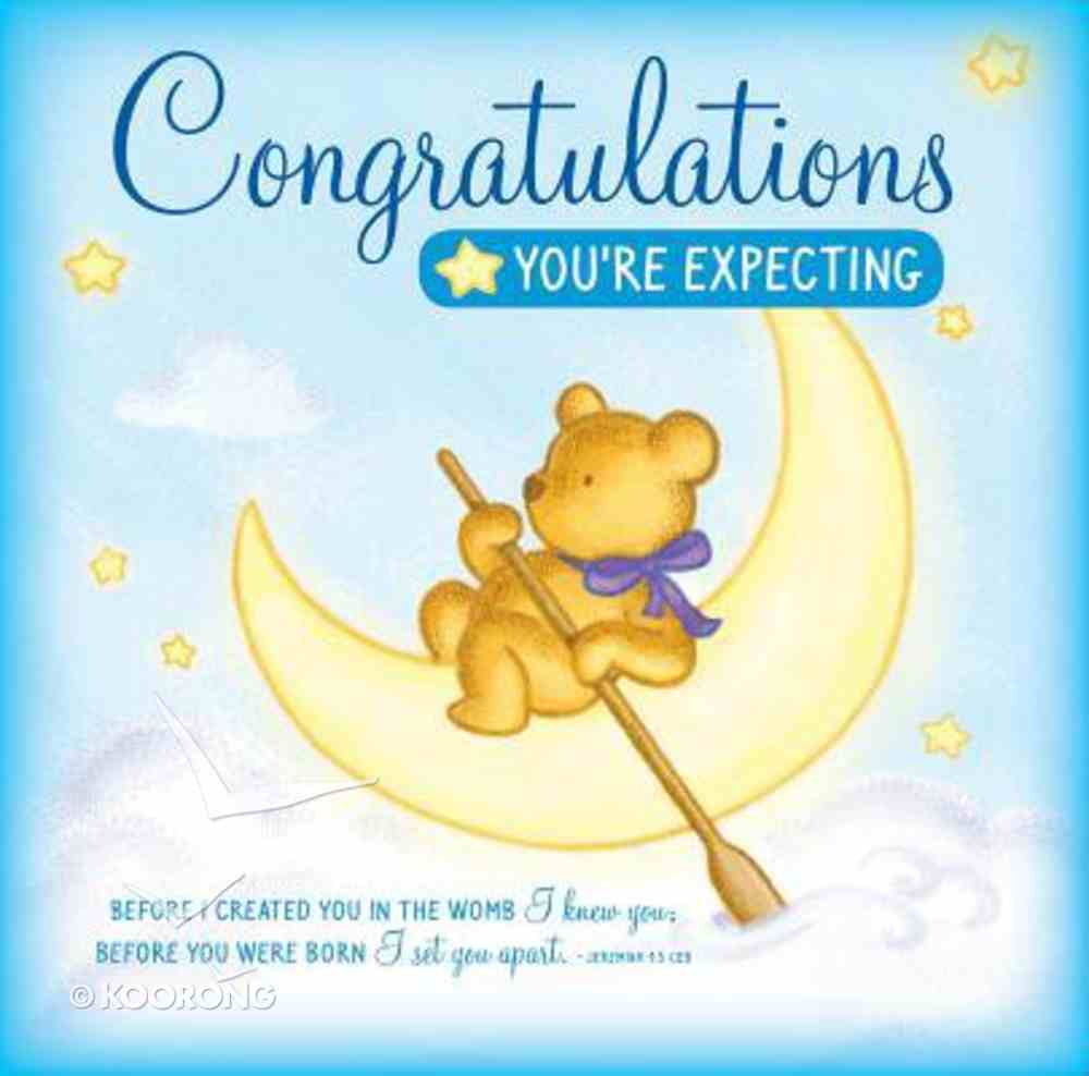 Congratulations You're Expecting Greeting Card/Cd Pack