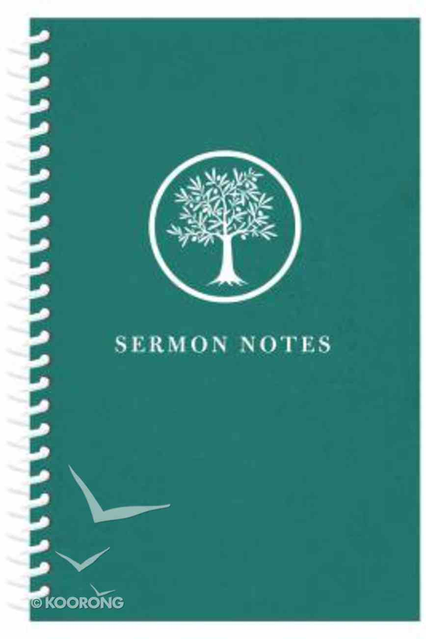 Sermon Notes Journal, Olive Tree Spiral