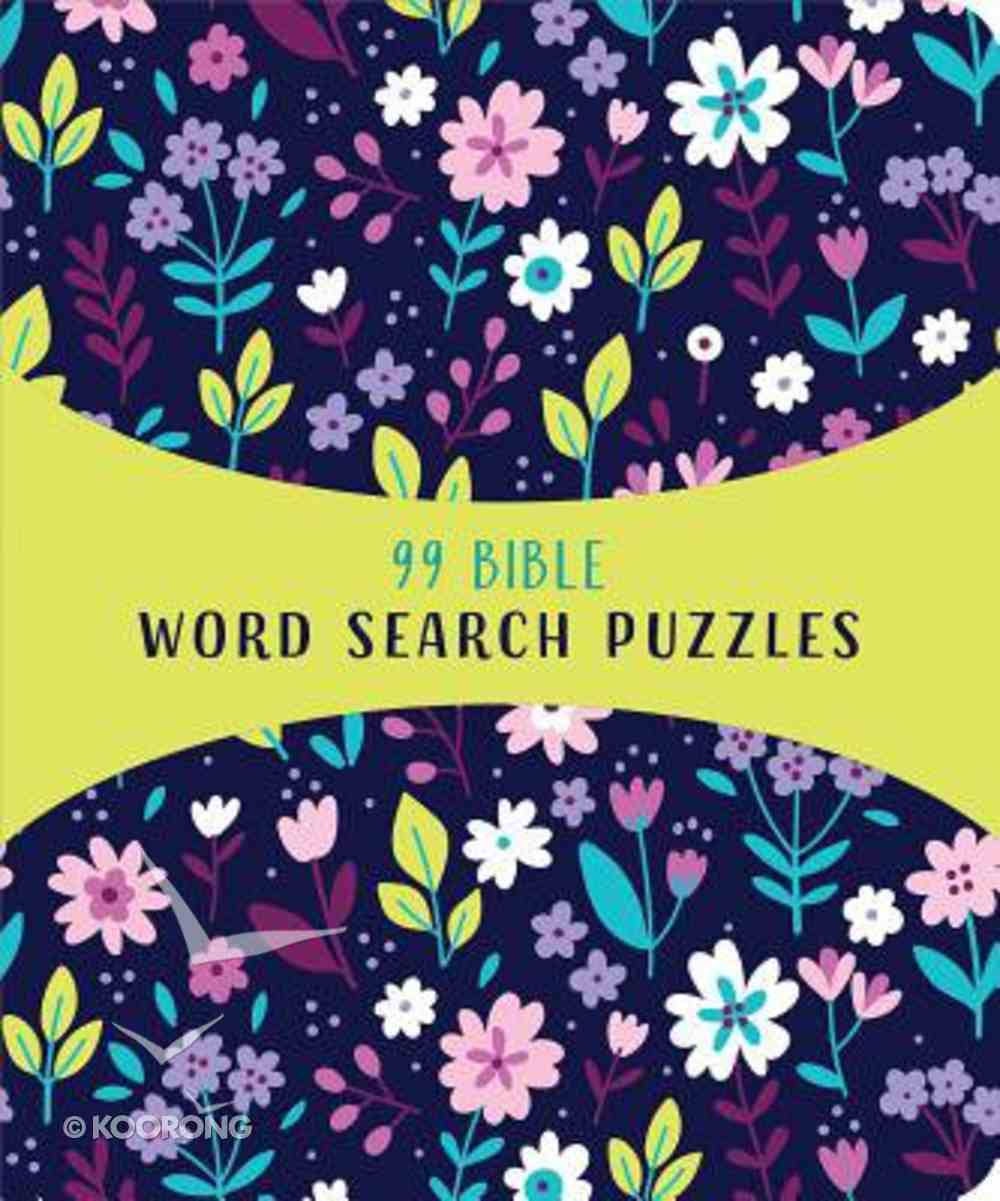 99 Bible Word Search Puzzles Paperback