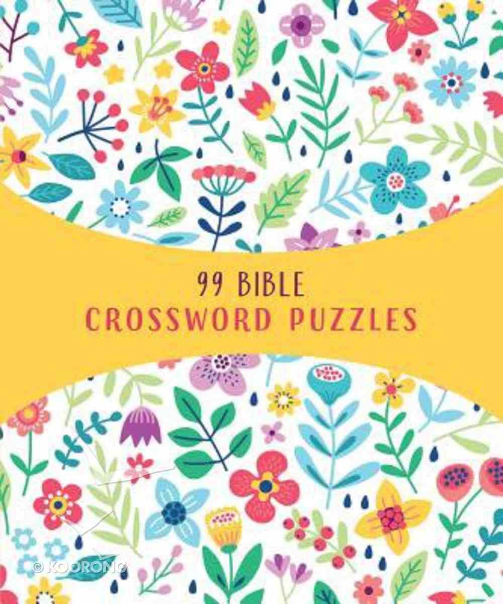 99 Bible Crossword Puzzles Paperback