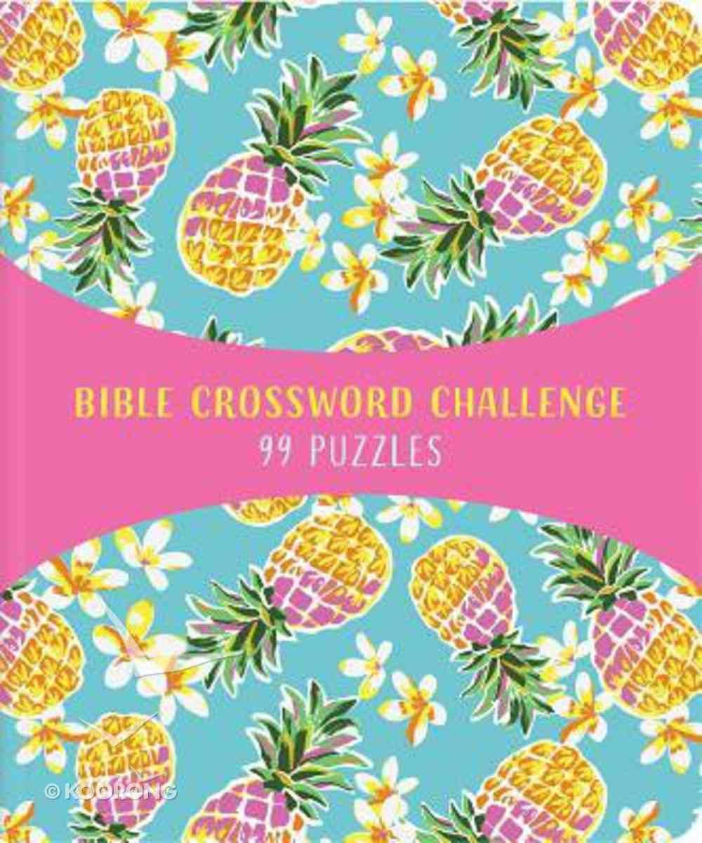 Bible Crossword Challenge: 99 Puzzles! Paperback