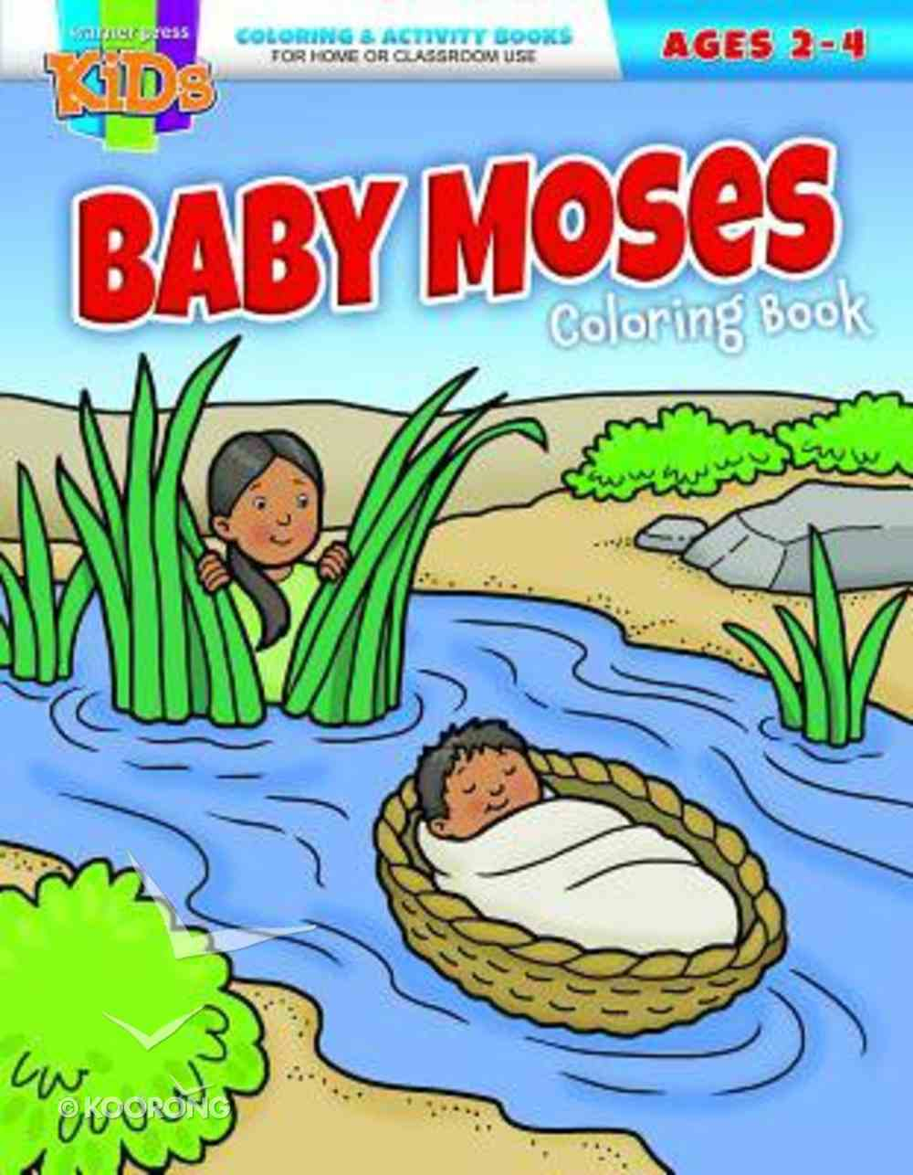 Baby Moses (Ages 2-4, Reproducible) (Warner Press Colouring/activity Under 5's Series) Paperback