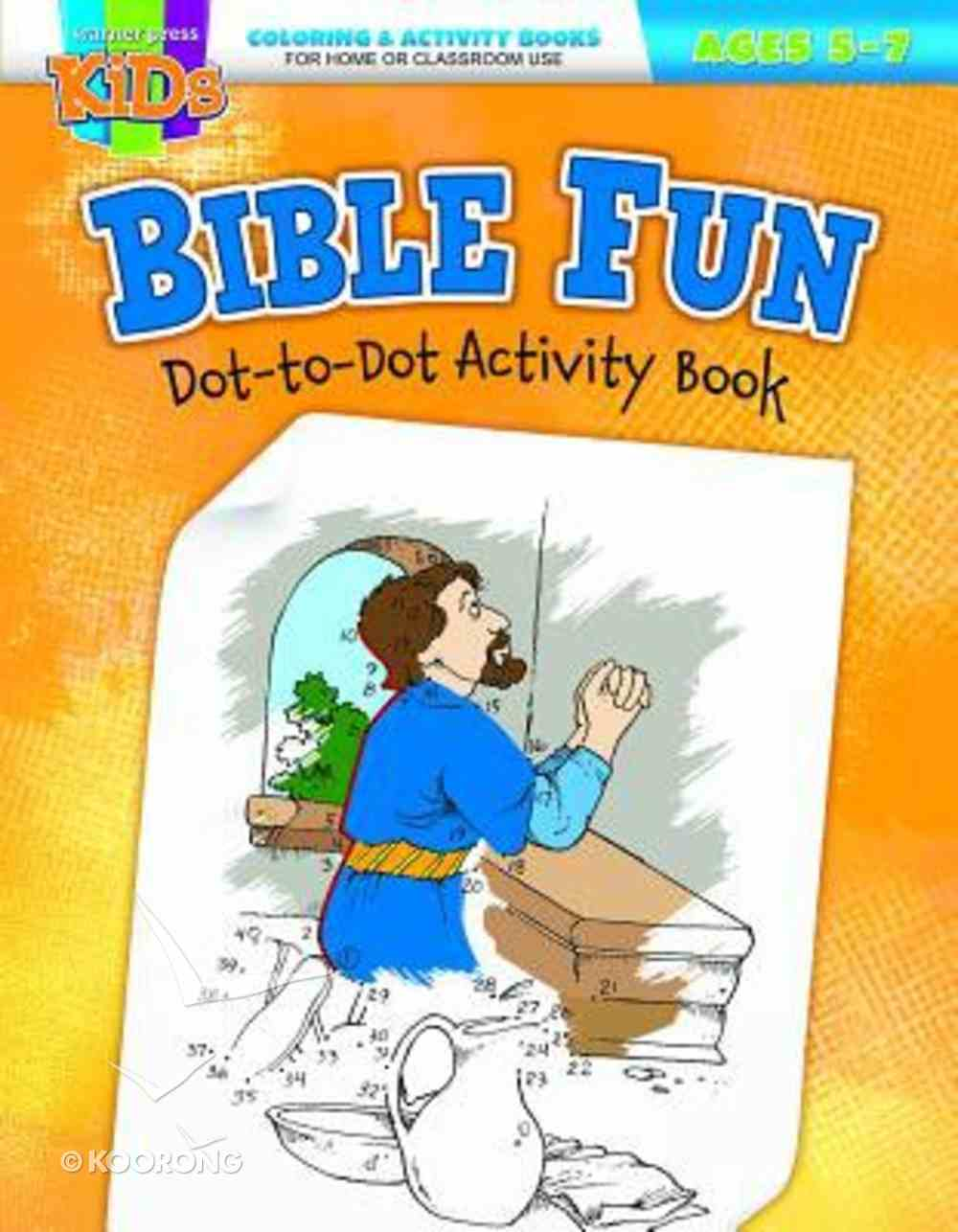 Bible Fun Dot-To-Dot (Ages 5-7, Reproducible) (Warner Press Colouring & Activity Books Series) Paperback