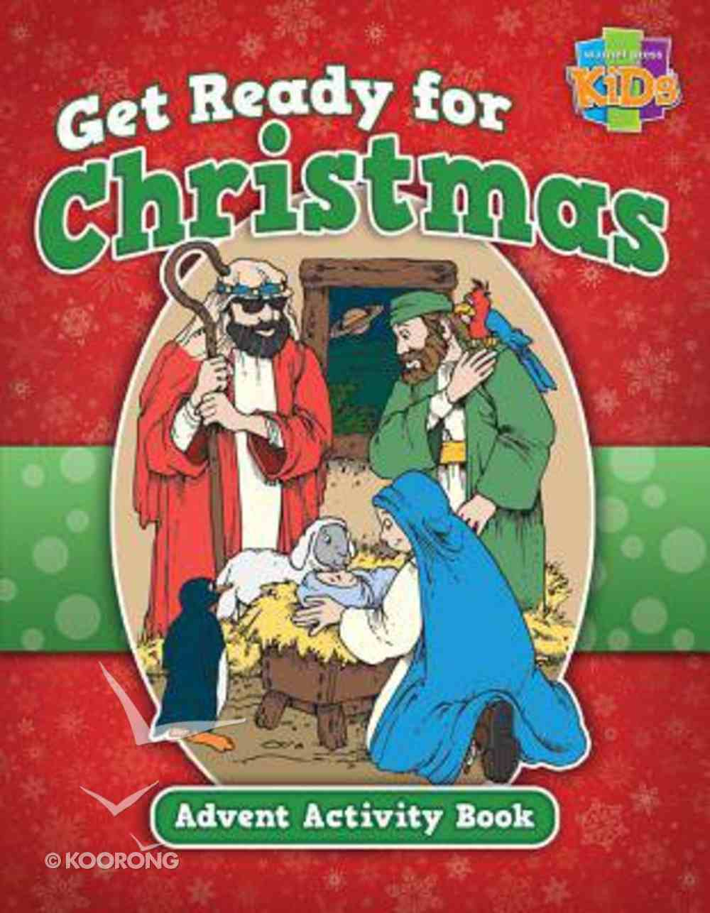 Activity Book: Get Ready For Christmas! Advent Activity Book (Niv/nirv) Paperback