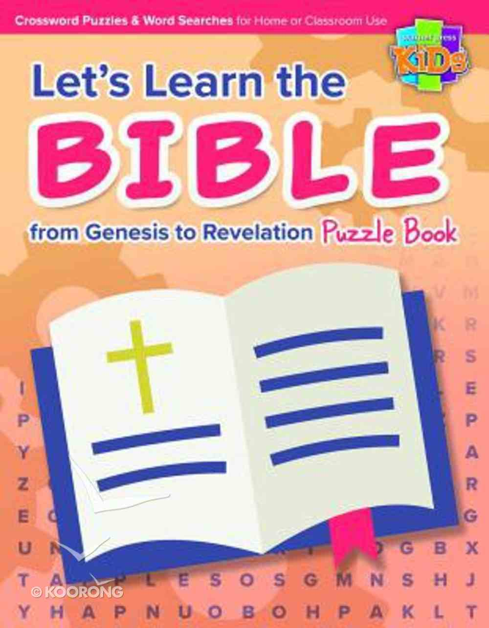 Let's Learn the Bible From Genesis to Revelation Puzzle Book Paperback