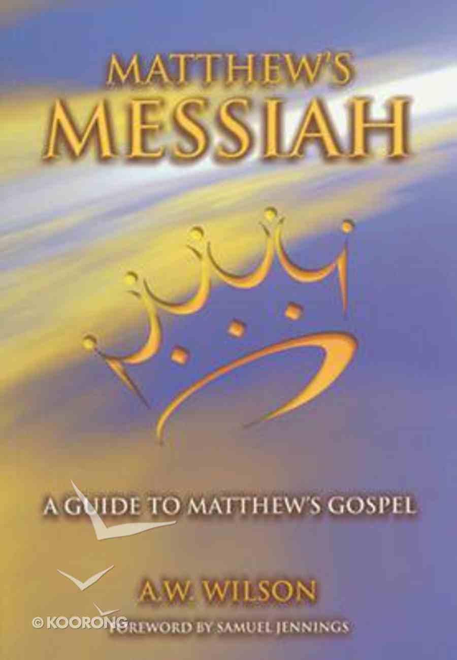 Matthews Messiah Paperback