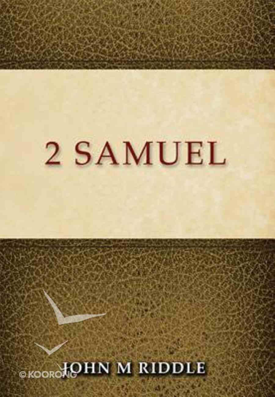 2 Samuel Paperback