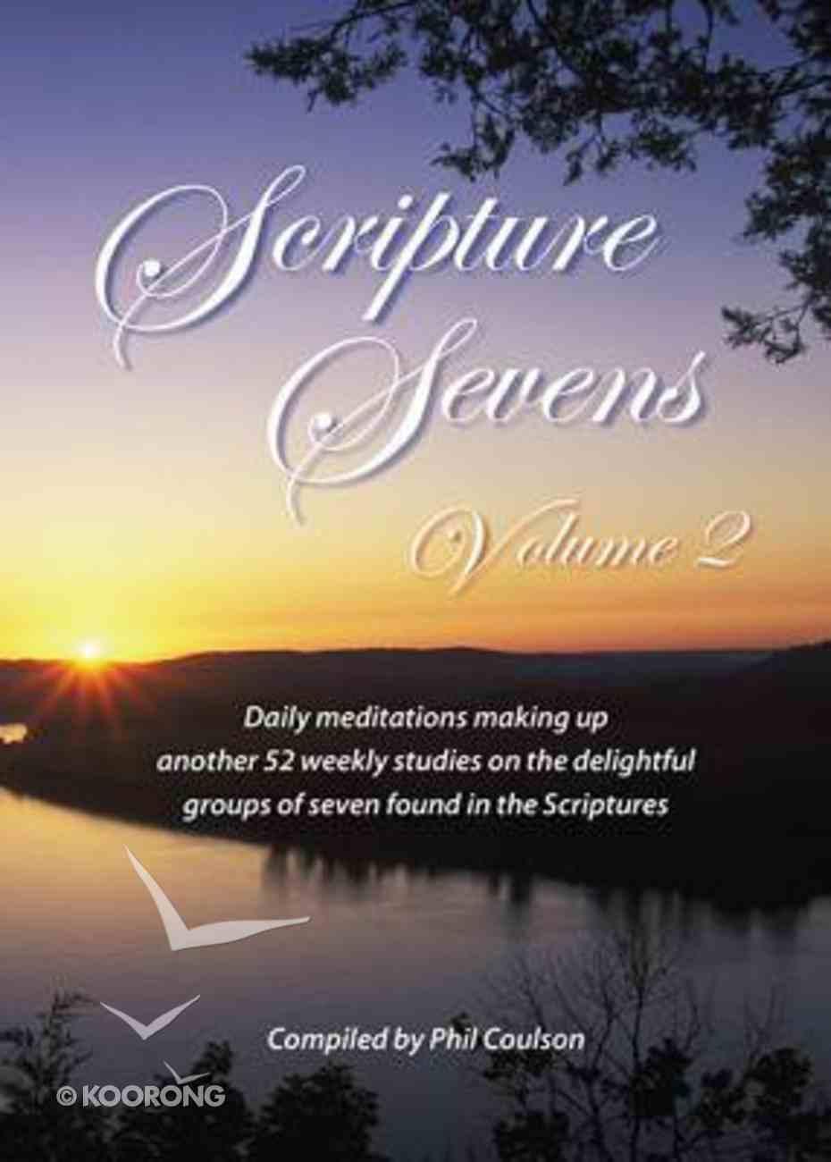 Scripture Sevens (Vol 2) Paperback