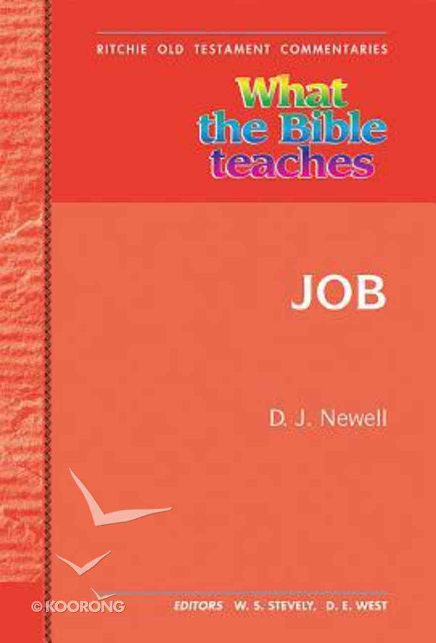 Rotc: What the Bible Teaches #17: Job Paperback