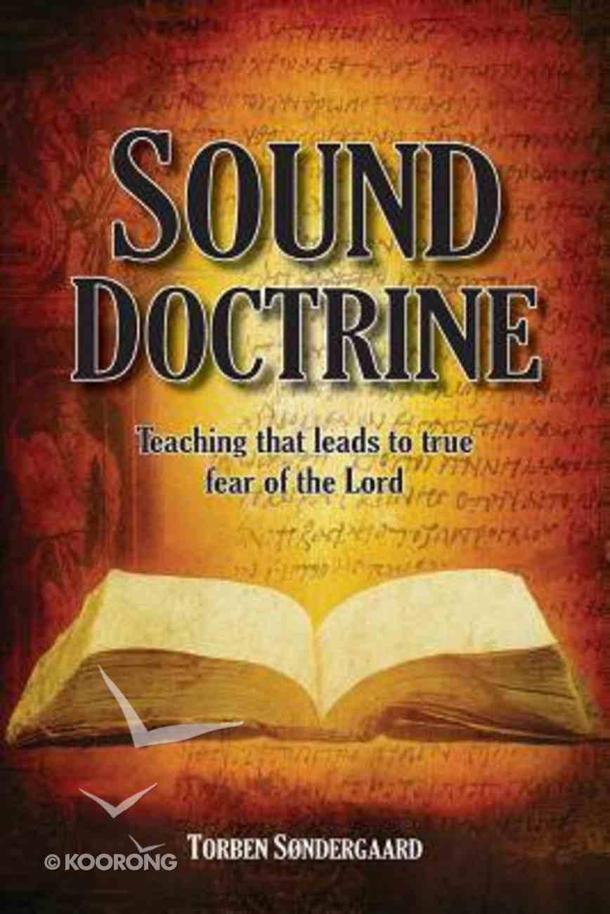 Sound Doctrine Paperback