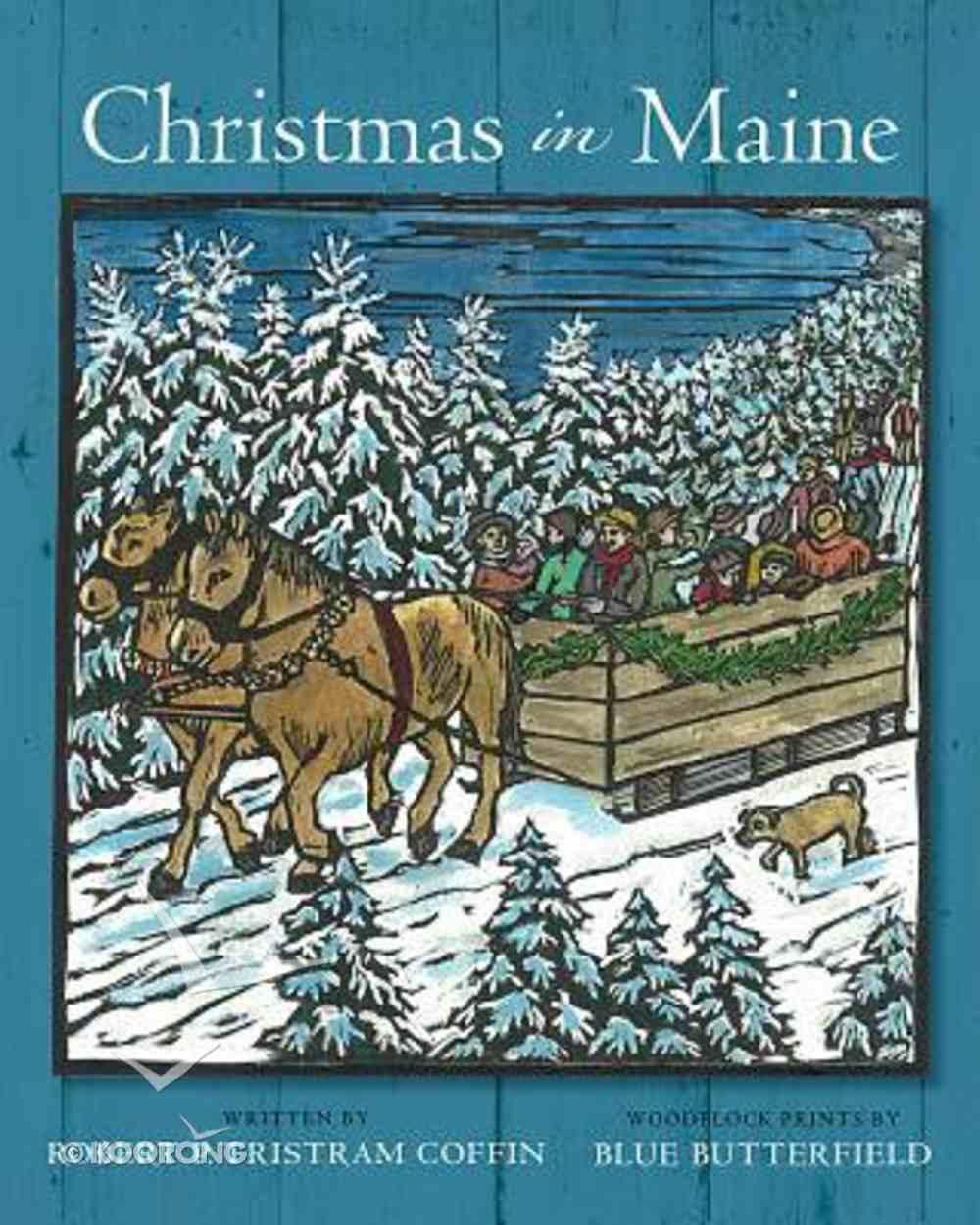 Christmas in Maine Hardback