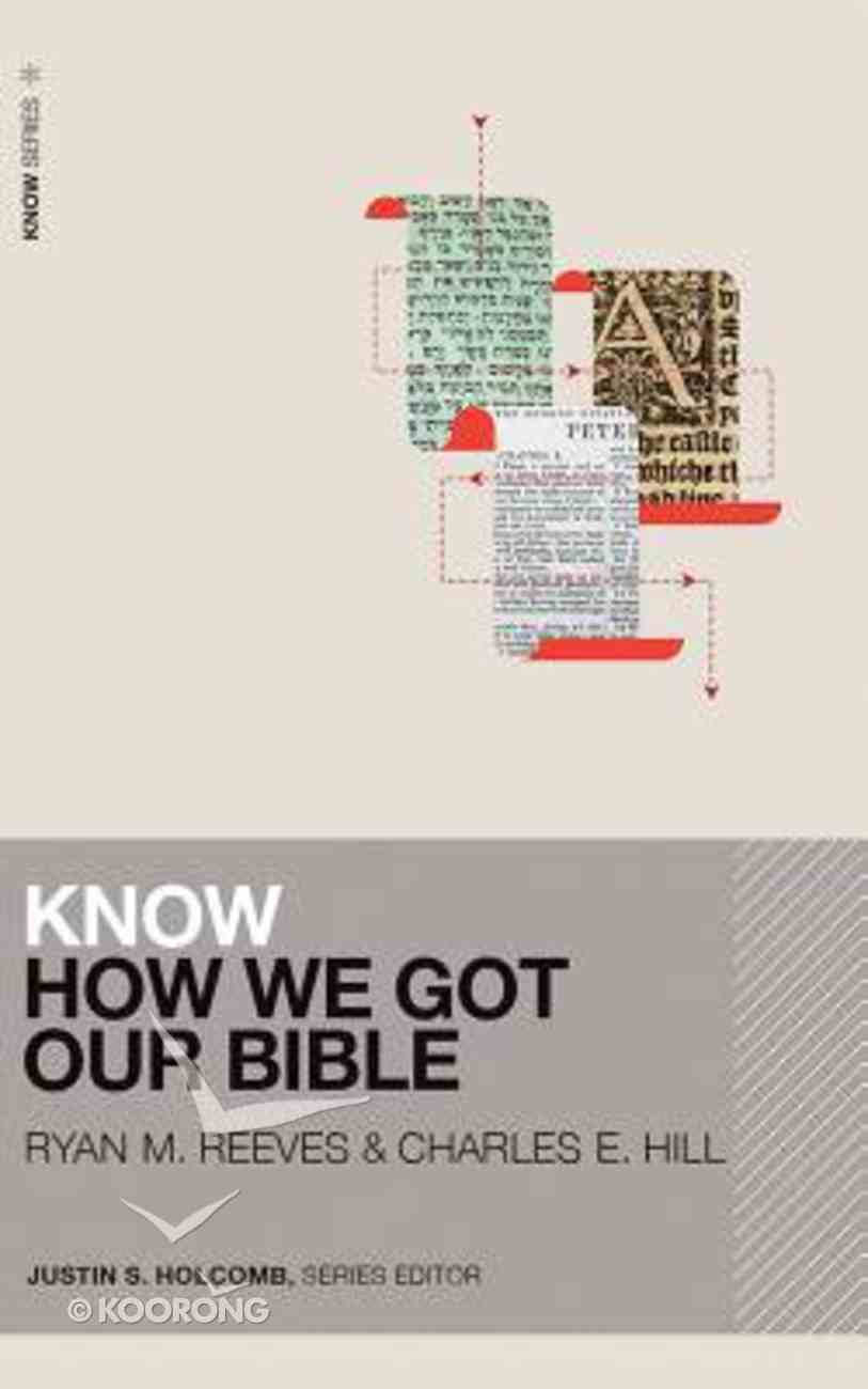 Know How We Got Our Bible (Unabridged, 6 Cds) CD