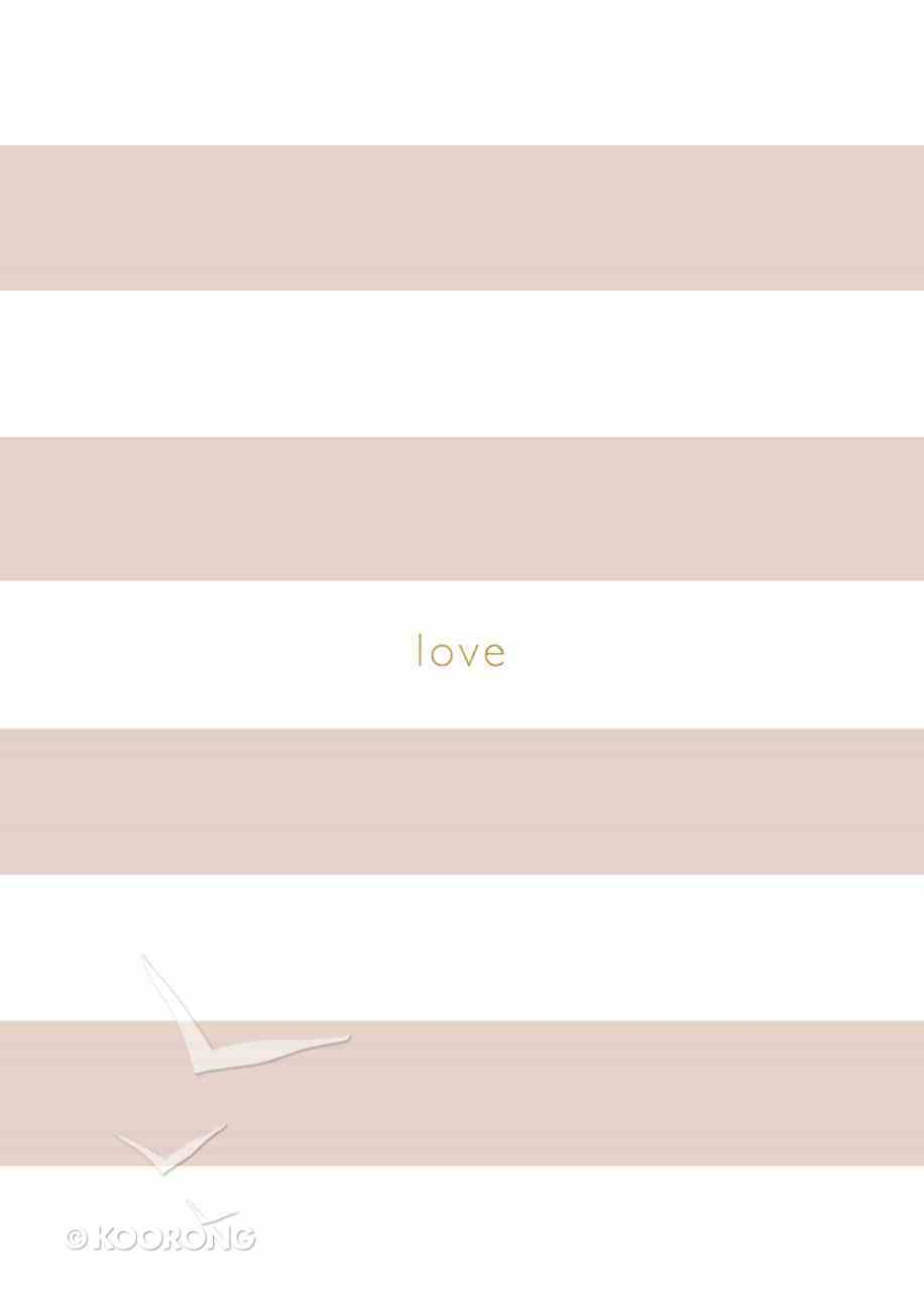 Notebook (Pink Stripe) Paperback