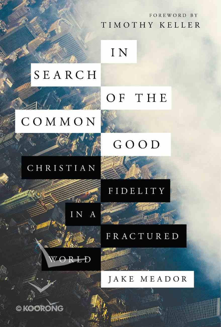In Search of the Common Good: Christian Fidelity in a Fractured World Hardback