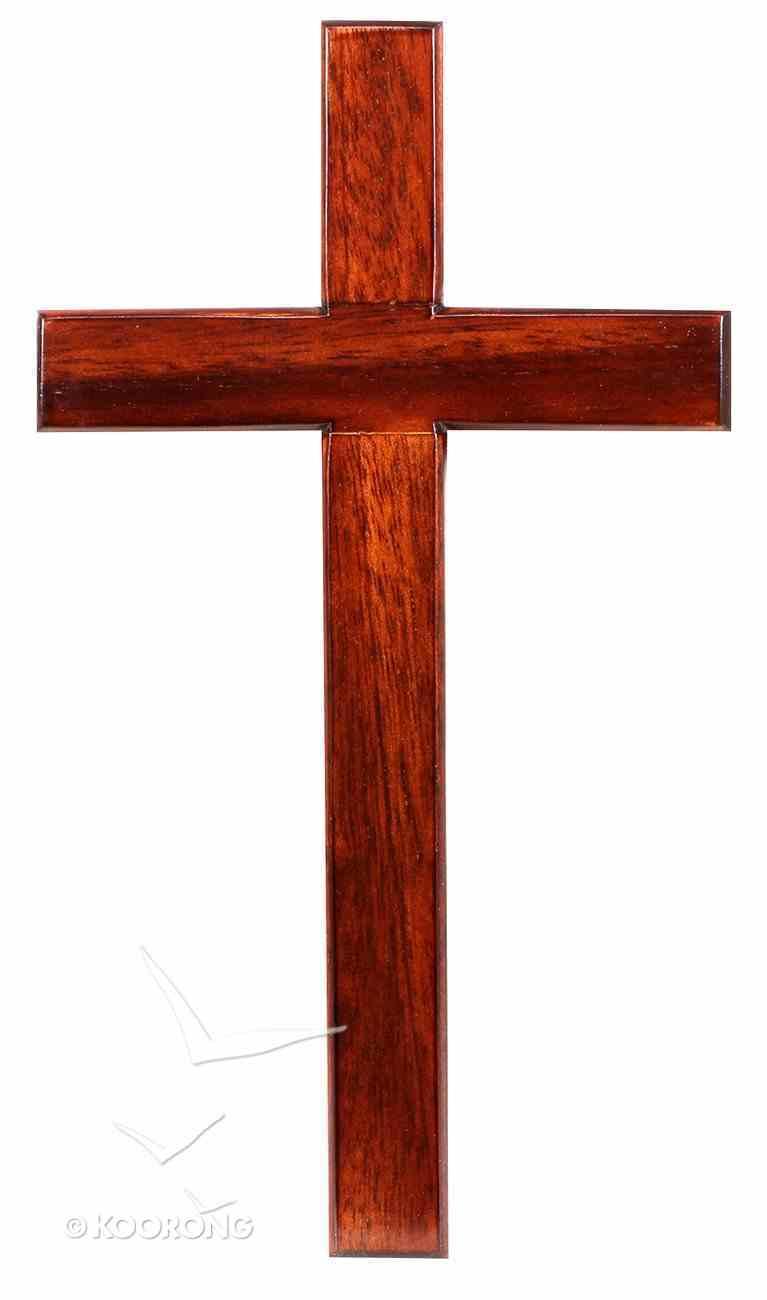 Cross 20Cm Hanging Plain Plaque