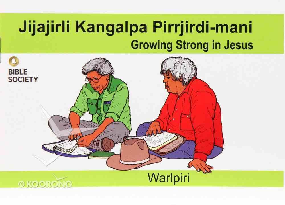 Growing Strong in Jesus (Warlpiri) Booklet