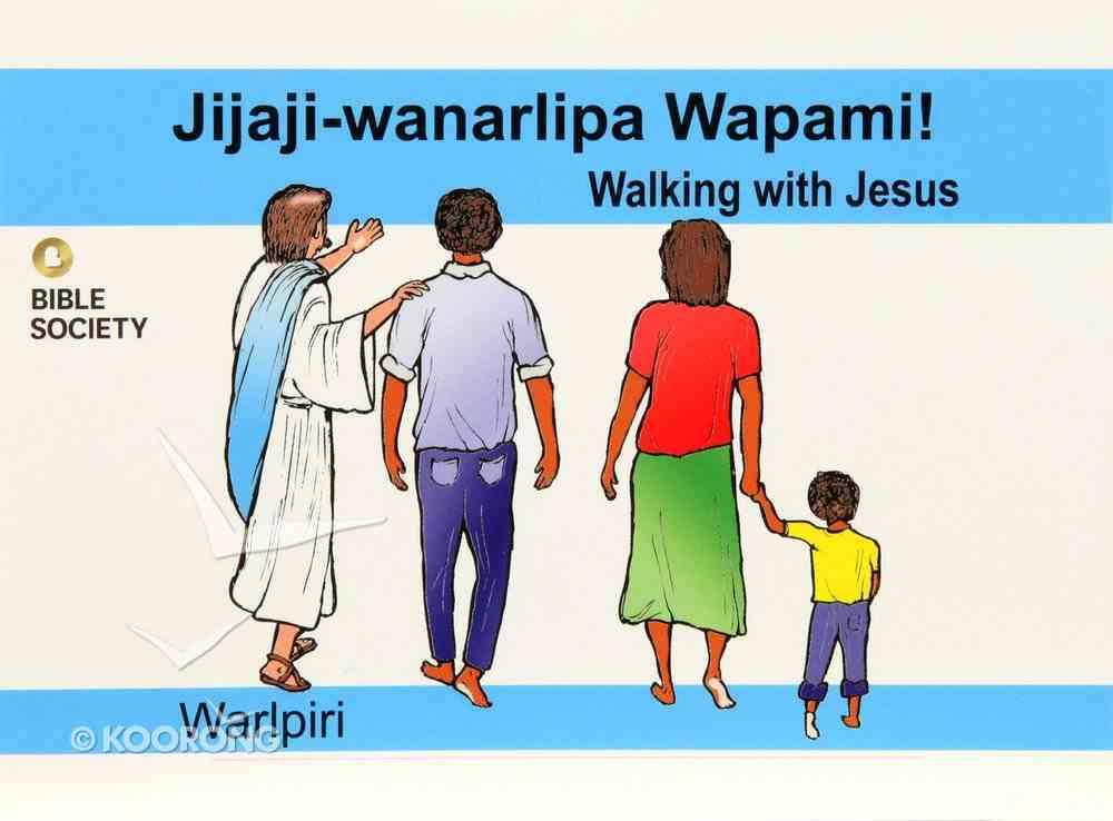 Walking With Jesus (Warlpiri) Booklet