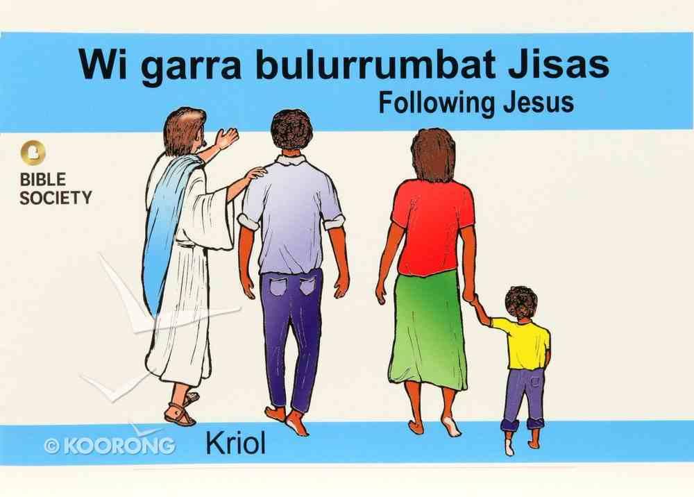 Following Jesus (Kriol) Booklet