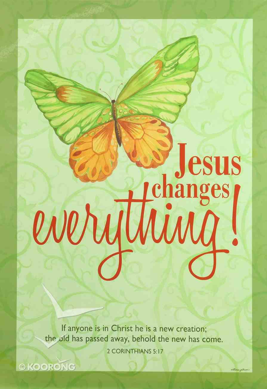 Poster Large: Jesus Changes Everything! Poster