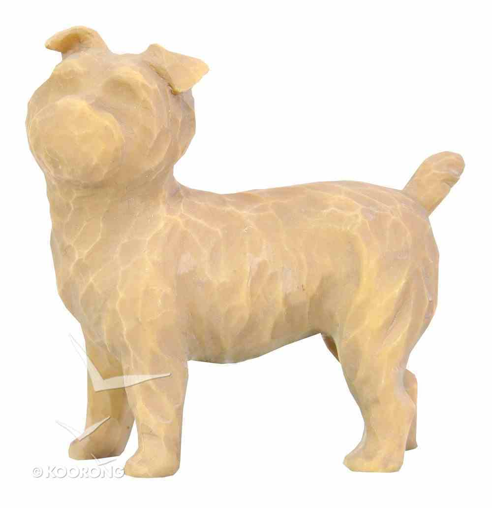Willow Tree Figurine: Love My Dog, Brown (Small, Standing) (Love My Pets Series) Homeware