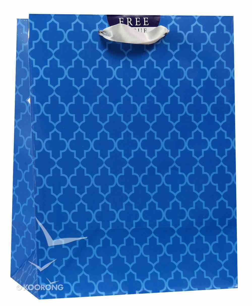 Gift Bag Medium: Blue Shapes, May the Lord Bless You (Numbers 6:24) Stationery