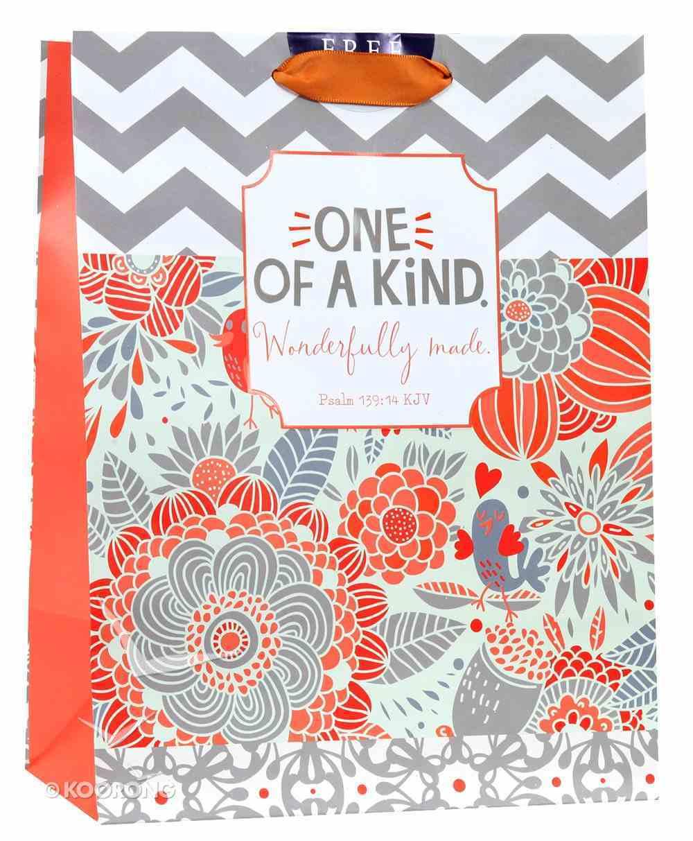 Gift Bag Medium: One of a Kind (Psalm 139:14 Kjv) Stationery