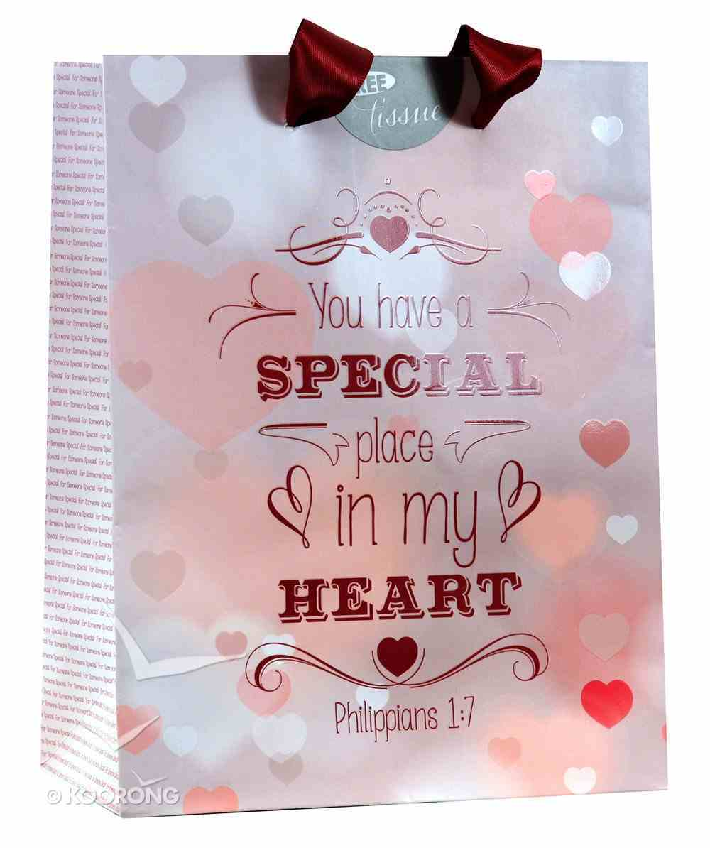 Gift Bag Small: You Have a Special Place in My Heart Stationery