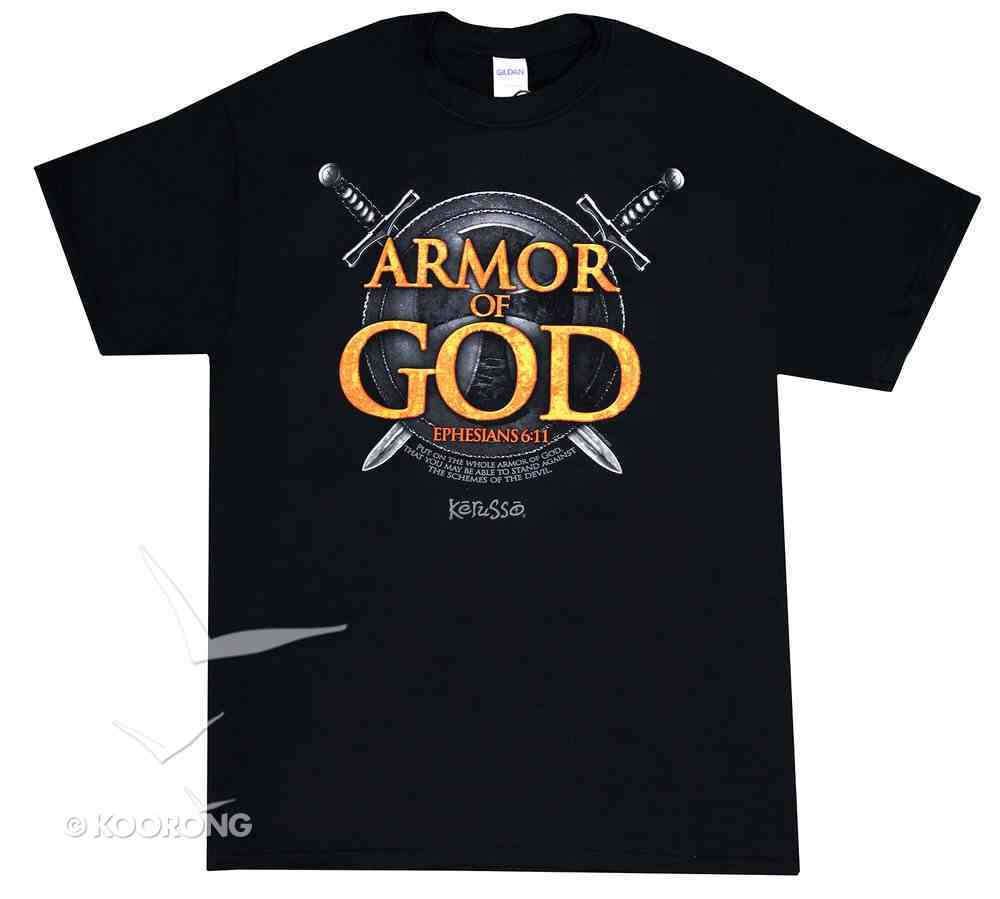 Mens T-Shirt: Armor of God X-Large Soft Goods