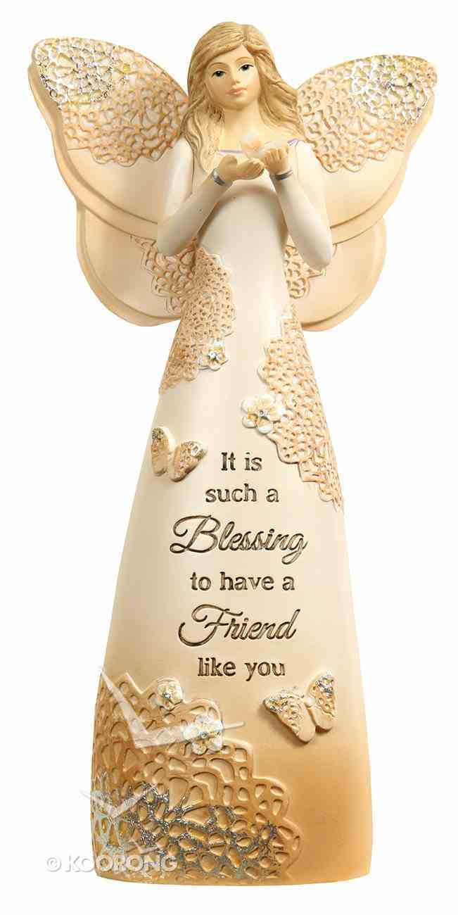 Light Your Way Every Day: Friend, Angel Holding Butterfly Homeware