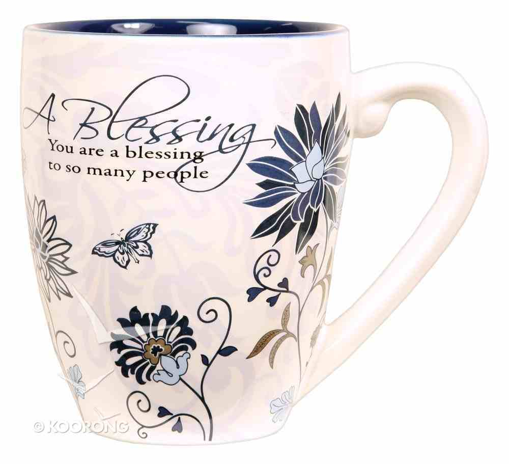Mark My Words Ceramic Mug: Blessing Homeware