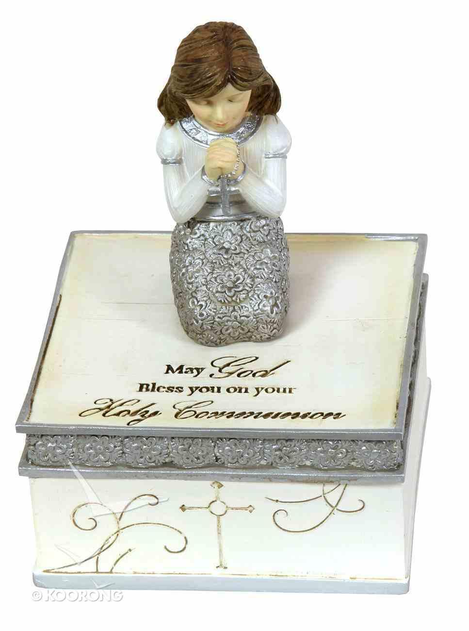 Elements Keepsake Box: Communion Girl, May God Bless You on Your Holy Communion Homeware