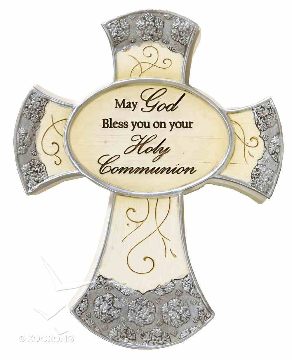 Elements Cross: Holy Communion, May God Bless You on Your Holy Communion Homeware