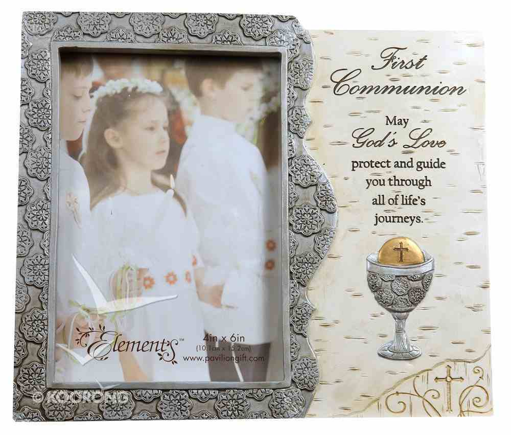 Elements Photo Frame: First Communion, May God's Love Protect and Guide You.... Homeware