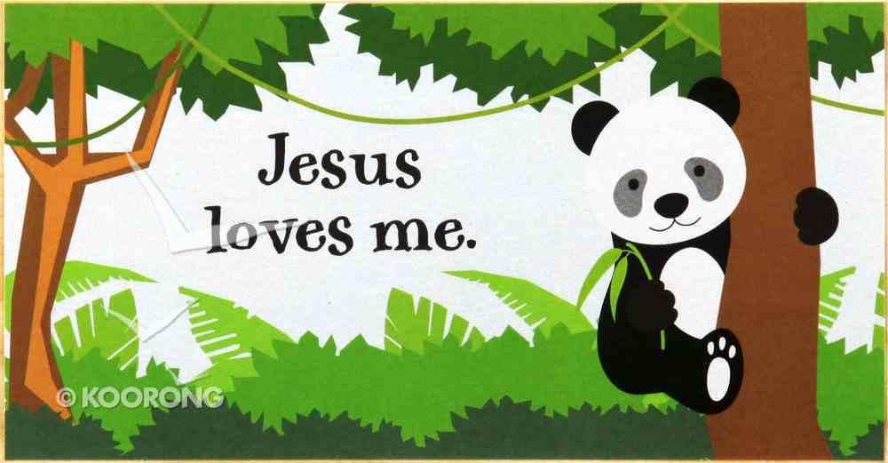 Young & Wild Freestanding Plaque: Jesus Loves Me Plaque