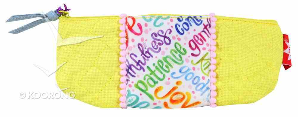 Small Accessory Case: Marigold, Let Your Light Shine, Yellow Soft Goods