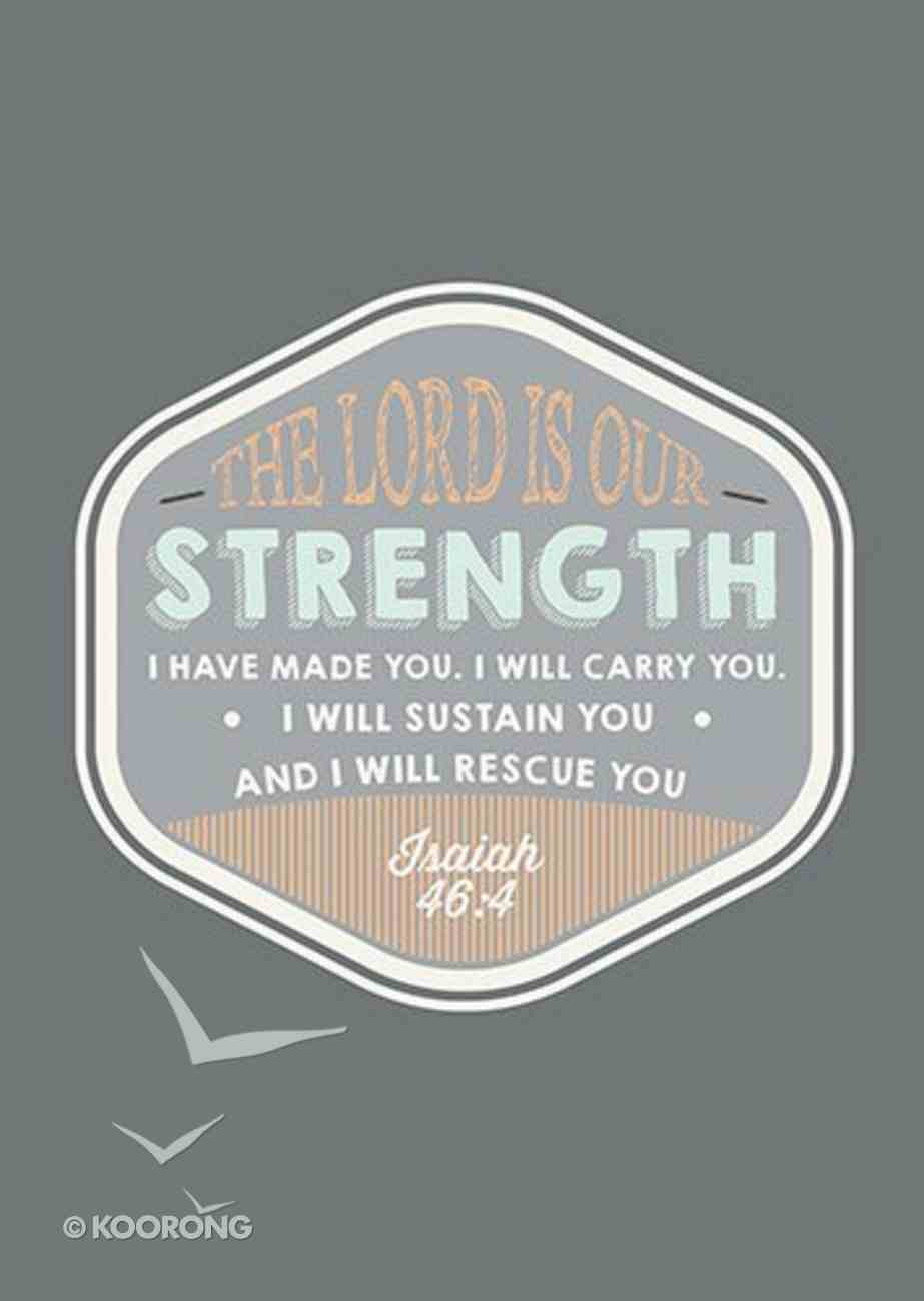 Poster Large: The Lord is Our Strength Poster