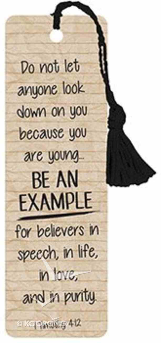 Bookmark With Tassel: Be An Example (1 Timothy 4:12) Stationery
