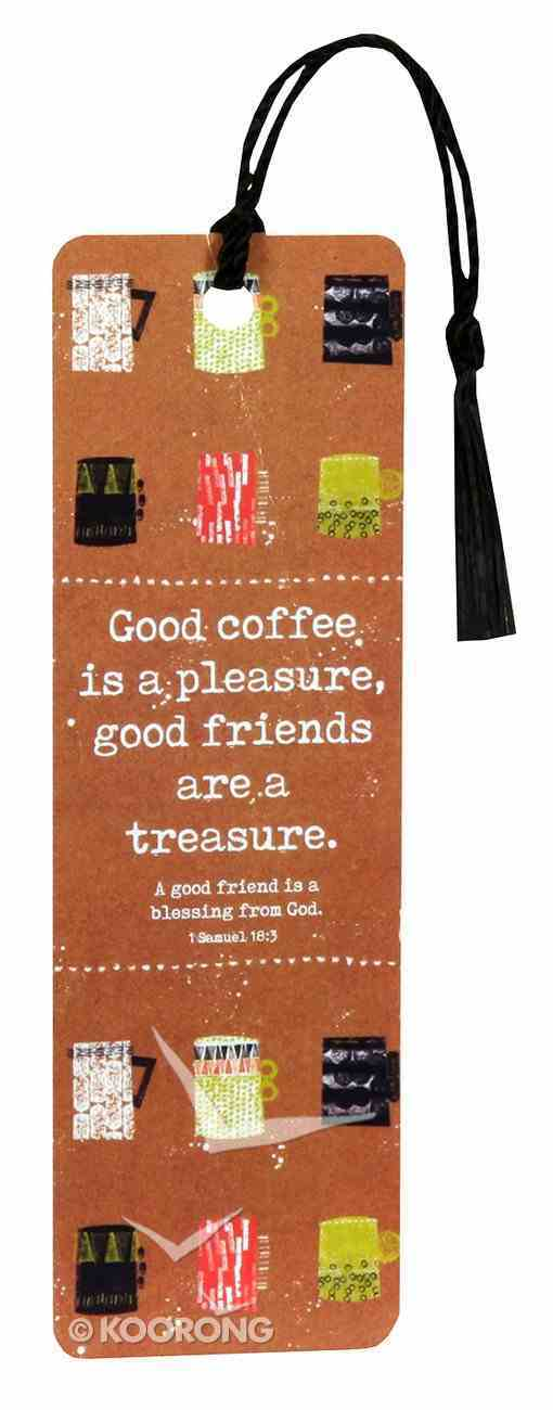 Bookmark With Tassel: Good Friends Stationery