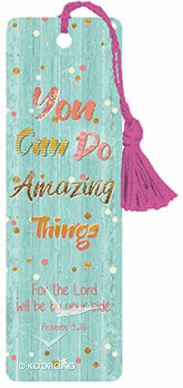 Bookmark With Tassel: Amazing Things Stationery