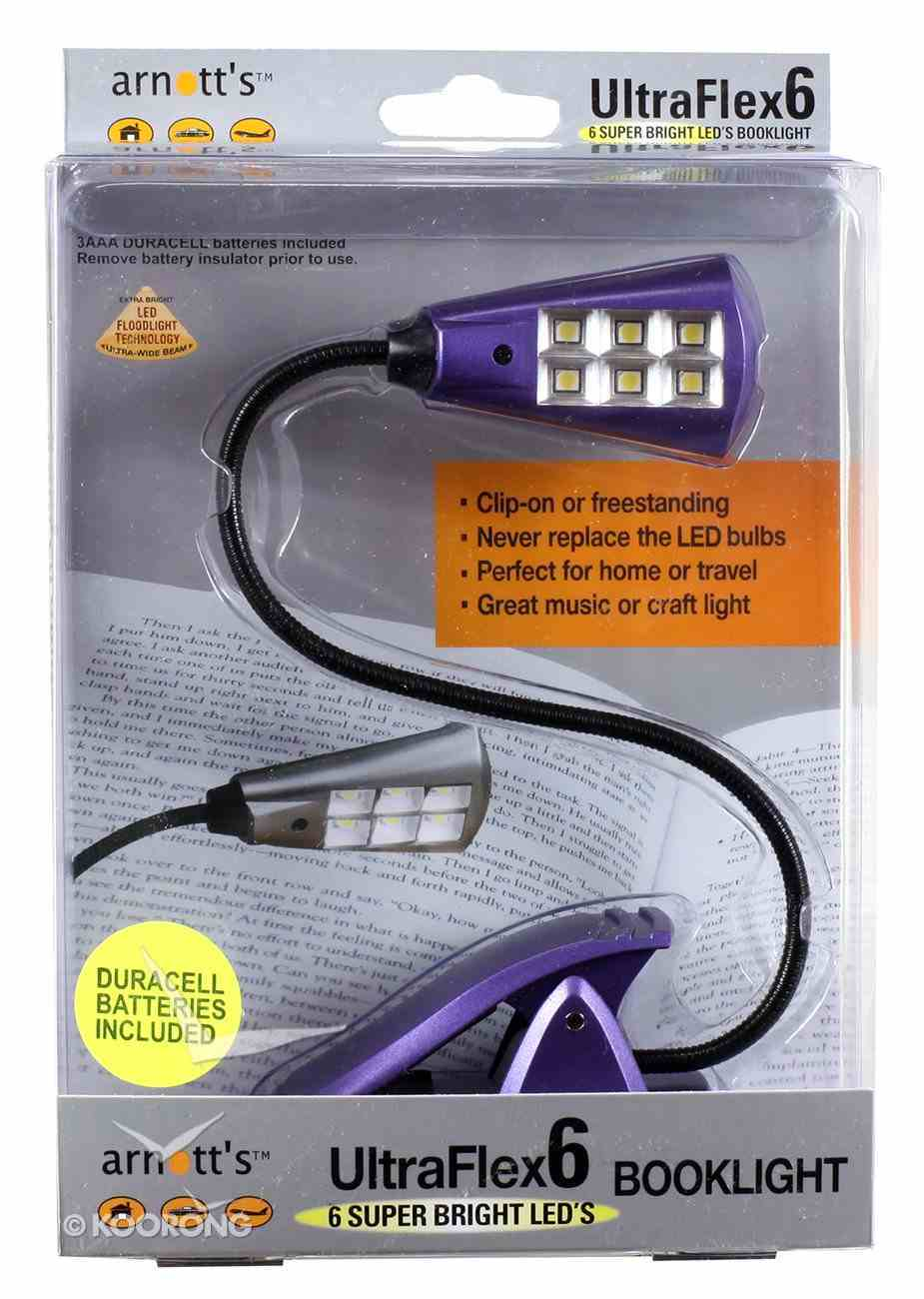 Ultraflex6 Booklight With 6 Super Bright Led's Purple Novelty