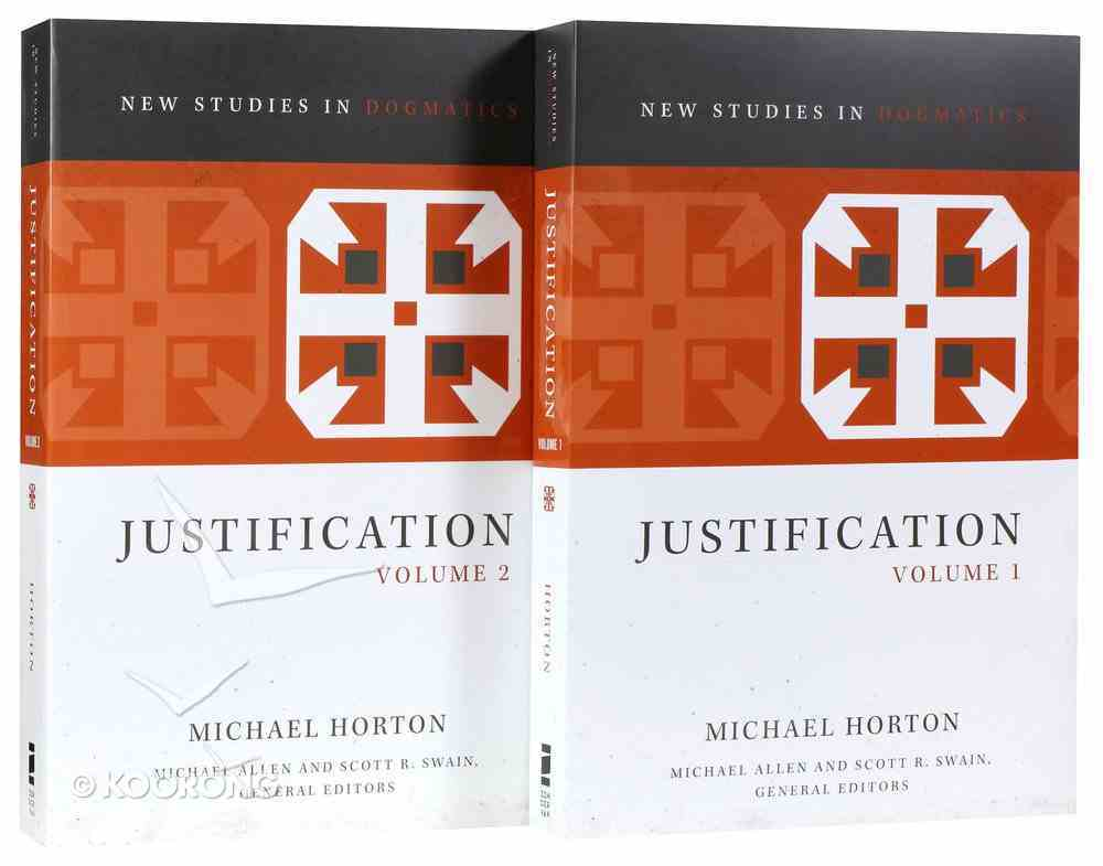 Justification (2 Volume Set) (New Studies In Dogmatic Theology Series) Paperback