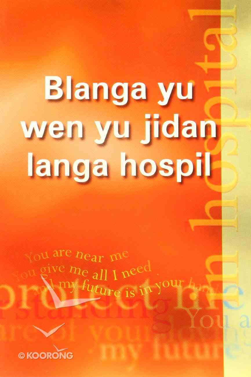 For You in Hospital (Kriol) Booklet